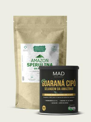 Amazon Spirulina 225g + Guaraná Cipó 250g